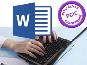 Formation PCIE/ICDL – Module 3 : Traitement de texte - Word Perfectionnement