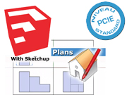 formation pcie cao 2d sketchup